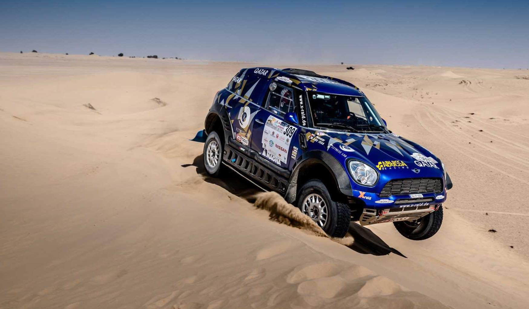 2017 Dubai International Baja: MINI celebrates third place result