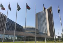 Moroccan Flag Hoisted at AU Headquarters in Addis Ababa