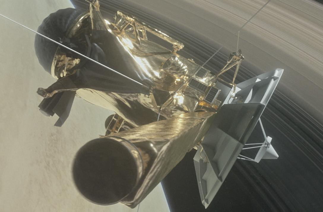 NASA's Cassini mission comes to a fiery end
