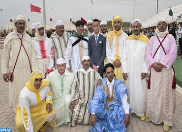 HRH Crown Prince Moulay El Hassan Chairs Opening of 10th El Jadida Horse Fair