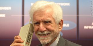 Martin Cooper invented the mobile phone in 1973