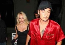 Pam Anderson Gets in Front of Cameras with Son Brandon (Picture)