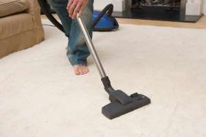 a close up of a device: Make sure carpets are getting a good clean