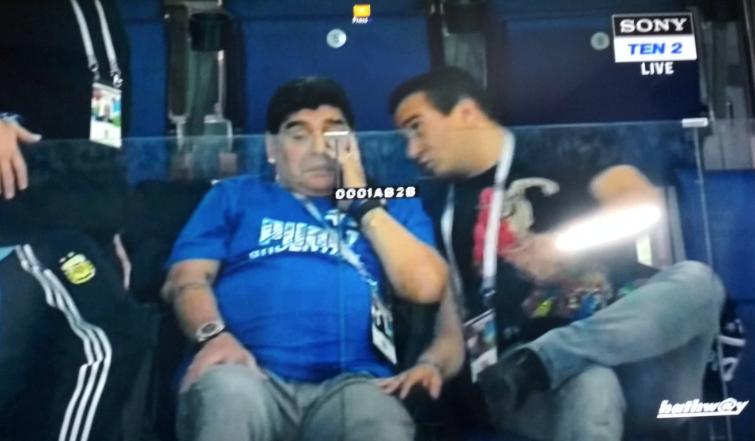 diego maradona world cup argentina