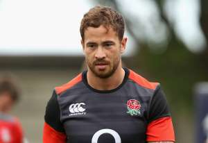 Danny Cipriani looks on during the England training session at Kings Park Stadium on June 20, 2018 in Durban, South Africa.