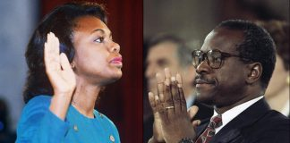 Anita hill on clarence thomas confirmation hearings