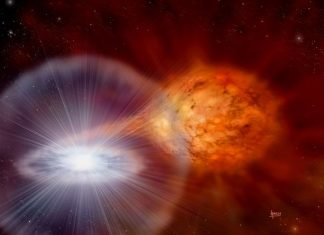 Study: Class of stellar explosions found to be galactic producers of lithium
