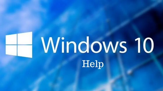 How to get help in windows 10 (Details)