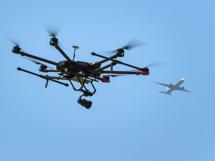 The government is publishing draft legislation on drones in the spring