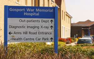File photo dated 20/03/09 of the Gosport War Memorial Hospital in Gosport, Hampshire.