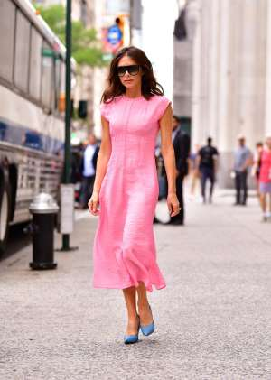 Victoria Beckham seen on the streets of Manhattan on June 19, 2018 in New York City