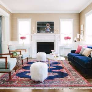 """4 Reasons Your Home Is Giving You Anxiety - and How to Fix Them: When wanting to design a welcoming family home, we often look for outside inspiration: magazines, Pinterest, and social media. But interior designer Jessica McClendon, founder of Glamour Nest, does things differently. She looks deep inside her clients, putting their emotional needs first and foremost in every design she does. Jessica explained, """"The truth is, we don't just decorate to have a beautiful home. While it's a nice side effect, the need comes from a much deeper desire to share life and ourselves with the people we love. That's why if you attempt to follow the latest decorating trends simply because it's what everyone else is doing, you won't truly be happy with the result. Will it look pretty? Totally. But if your emotional needs are not being met, it won't feel like a home.""""If Jessica's words are setting off alarms in your head as to why your home just doesn't put you at ease despite all the beautiful decor you've filled it with, read on. Ahead, Jessica explains common reasons your home may be giving you anxiety and how to fix them."""