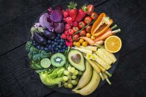 a bunch of fruit sitting on a table: What Is Plant-Based Eating?