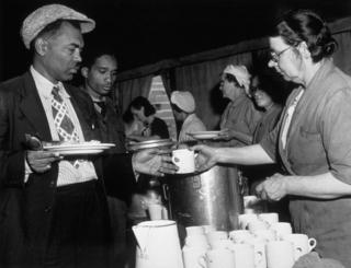 Canteen for migrant workers