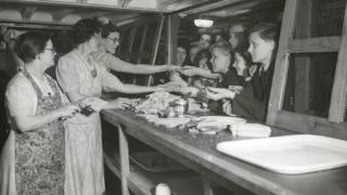WWII canteen under Clapham South