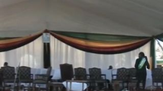 The blast is believed to have been an assassination attempt against Zimbabwe President   Emmerson Mnangagwa