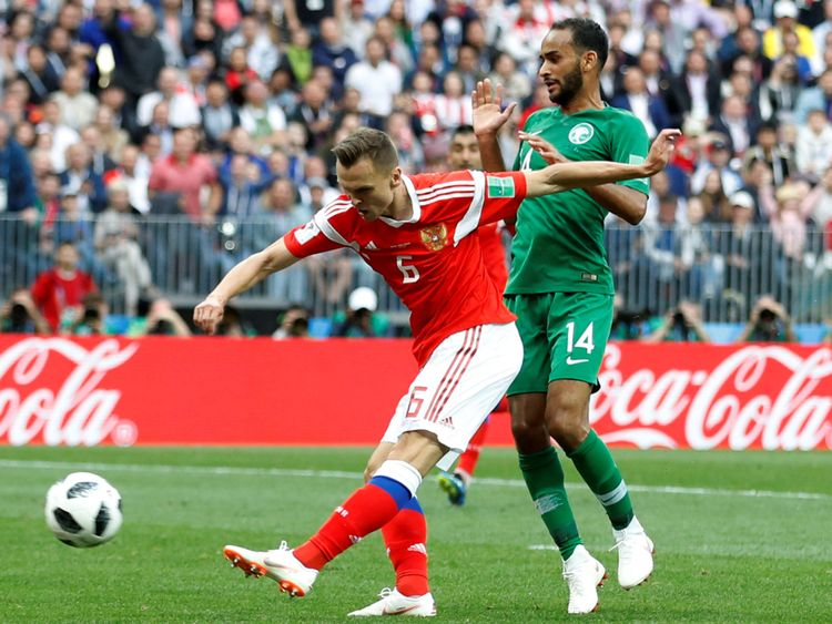 Saudi Arabia lost 5-0 in their World Cup opener against Russia on Thursday