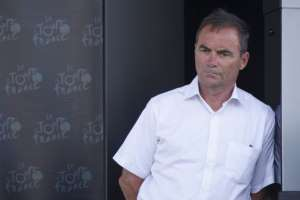 Bernard Hinault in a white shirt: Former french cycling champion Bernard Hinault is seen in Monte Carlo