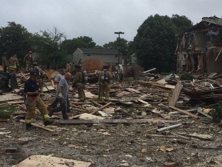 Neighbours several blocks away said their homes were shaken