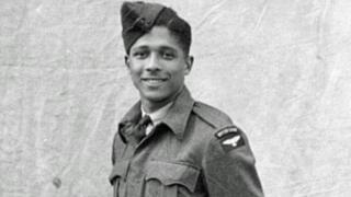 Harold Sinson in RAF uniform