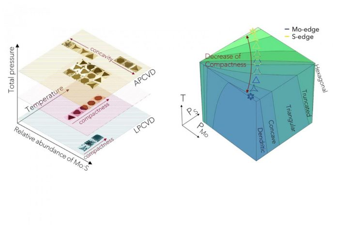 Mapping crystal shapes could fast-track 2D materials, says new research