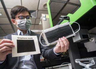 Study: CityU develops anti-bacterial graphene face masks