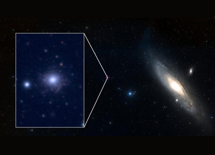 Study: Anemic star cluster breaks metal-poor record