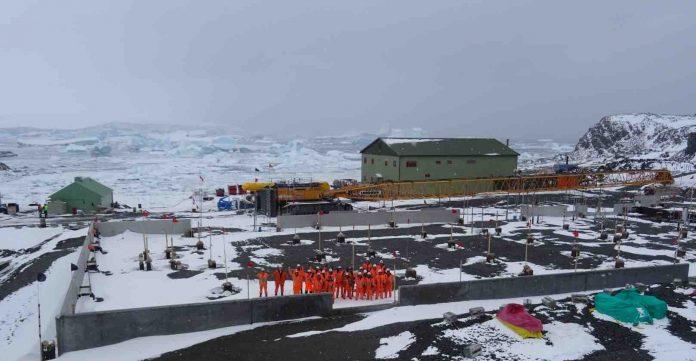 Study: Antarctic Science Hub Takes Shape Amid Complex Construction Season