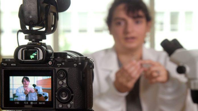 Recherchers seen as trustworthy experts when sharing their work in online videos